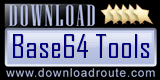 Base64 Tools - 5 Stars rating at DownloadRoute.com