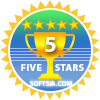 5 Star award at SoftSia.com