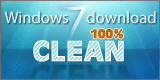 Tested 100% clean by Windows7Download.com