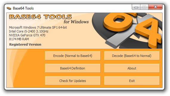 Base64 Tools 1.3.0 full